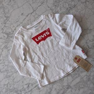 2/$20! Levi's Batwing Cotton Logo Tee